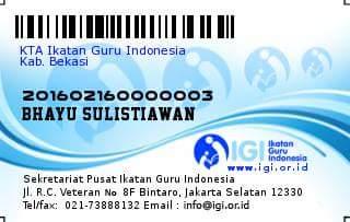 Kartu IGI model Baru