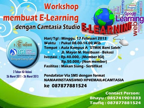 Workshop Camtasia