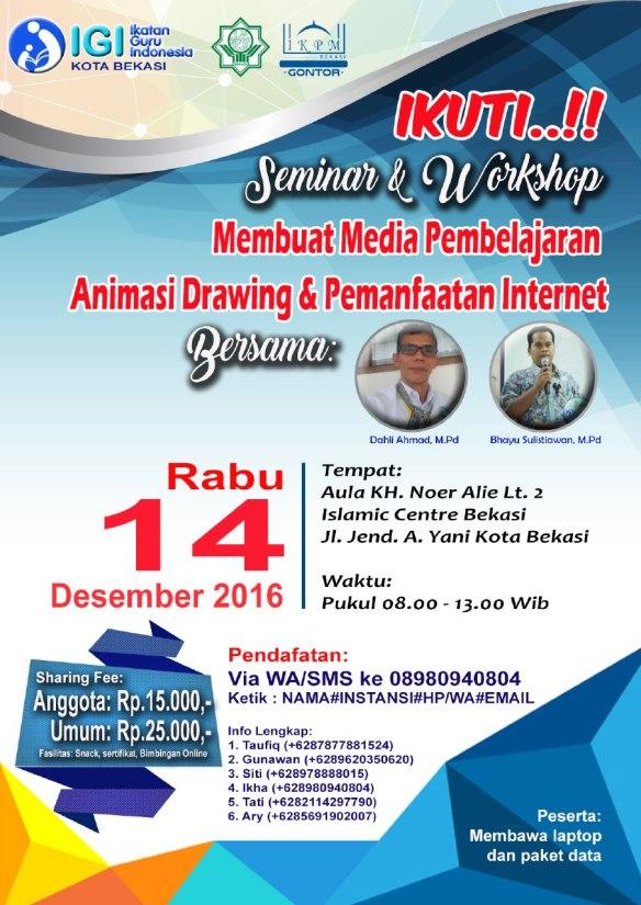 Seminar Workshop PembuatanMedia Pembelajaran